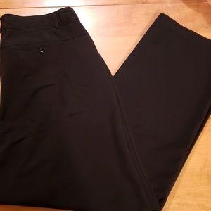 Savage Art Stretch Black Dress Pants-Size 18